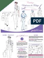 Catalogo de Moldes de Uniformes y Ropa de Trabajo - Modafacil