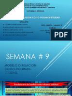 Modelo o Relacion Costo Volumen Utilidad Semana 9