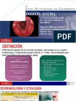 Laringitis Aguda Orl