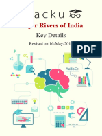 1. Indian Rivers