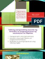 Pagbabago Sa Lipunan (Panahon Ng Amerikano)