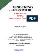 Engineering Cookbook a Handbook for the Mechanical Designer