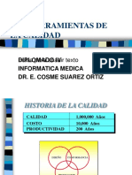 LAS HERRAMIENTAS DE LA CALIDAD