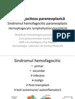 Selicean hemofagocitoza paraneoplazica