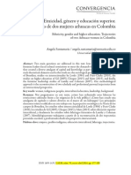 Etnicidad, Género y Educación Superior - Trayectorias de Dos Mujeres Arhuacas en Colombia