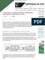 Centrifugal Compressor Performance Curves