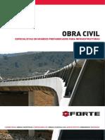 Obra Civil Prefabricados - ForTE