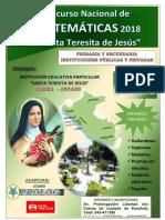Concurso de Matemáticas Bases-santa-teresita