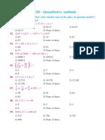 Quantitative Aptitude 5