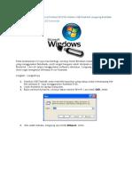 Cara Instal Windows Apapun