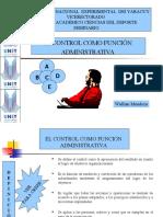 El Control Como Funcion Administrativa