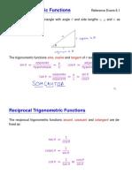 BasicTrigonometric Functions