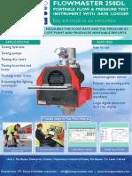 Hydrant FlowPress Meter Flowmaster250DL- DPI
