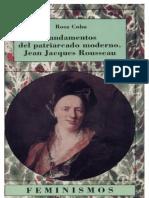 Fundamentos Del Patriarcado Moderno - Jean Jacques Rousseau