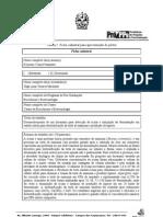 Ficha Cadastral X Mostra PG-UENF 2010 - Keysson Vieira