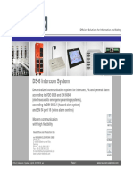DS-6 Intercom System