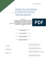 Rigid Sternal Closure Report
