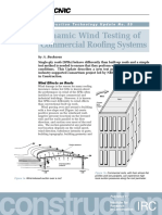 Dynamic Wind Testing of Commercial Roofing Systems