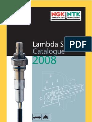 NGK LAMBDA oxygen o2 SENSOR Front Audi A4 2.8 08.98-/>10.00