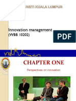 Chapter 1- Innovation Management