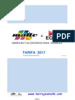 Malle Tarifa 2017 Euros.ene17