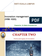 Chapter 2- Innovation Management