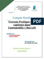 Compte Rendu TP Instrumentation