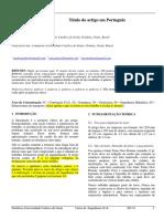 Modelo TCC 2 Artigo