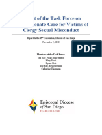 Report of Compassionate Care Task Force | Diocese of San Diego | 2018-09-30