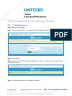 HOW to Reset Your UNV Account Password
