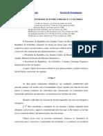 Tratado de Extradição - Brasil Colombia