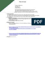 Plan de lecție, AVAP, clasa a II-a