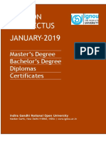 IGNOU English Prospectus 2019.pdf