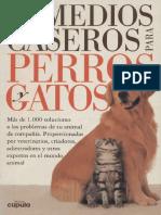 Remedios Caseros Para Perros y Gatos (Grupo Edit CEAC 1997)