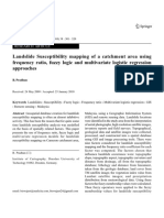Landslide Susceptibility Mapping of a Catchment Area Using Frequency Ratio, Fuzzy Logic and Multivariate Logistic Regression Approache