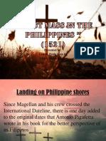 Landing on Philippine Shores