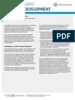 CFA Sector Analysis Property
