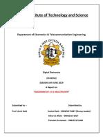 Report on 4x1 Multiplexer