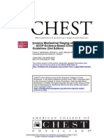 Invasive Mediastinal Staging of Lung Cancer* ACCP Evidence-Based Clinical Practice Guidelines