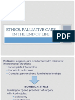 Ethics, Palliative Care in the End Of