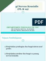Fisiologi Saraf Kranialis