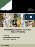 000001_Métodos Estadísticos Utilizados Para La Evaluación de Los Resultados. Futuras Mejoras (Lic. Liliana Castro) - Presentación_unlocked