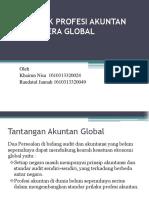 Kode Etik Profesi Akuntan Menuju Era Global Ppt