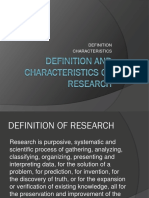 1.1 Definition and Characteristics of Research.pptx