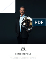 Chris Hadfield  Teaches Space Exploration - Workbook