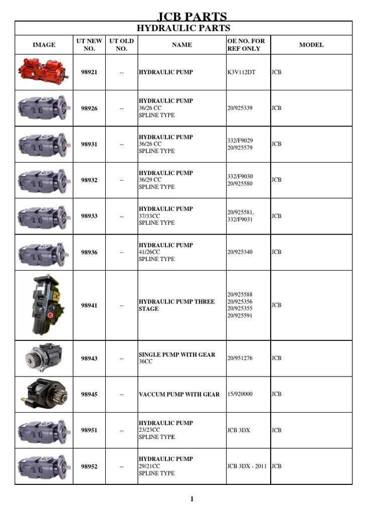 JCB PARTS Part No. 700//50054 /& 700//50055 HEADLAMP ASSEMBLY LEFT /& RIGHT SET