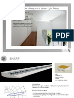 CASE STUDY - Linear Light Fittings 2