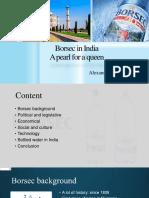 Borsec in India