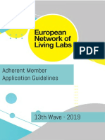 ENoLL Application Guidelines - 13th Wave