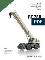 Terex RT 780. 80 Ton RT